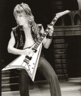 Randy Rhoads with his Concorde
