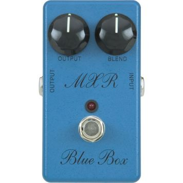 MXR M-103 Blue Box Distortion / Fuzz Pedal with Octaver